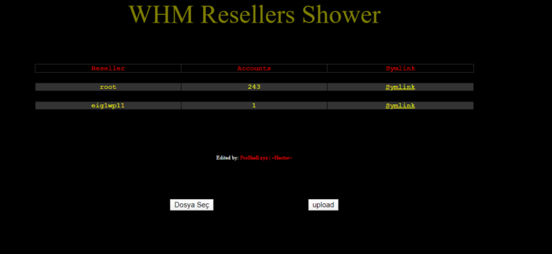 WHM Resellers Shower